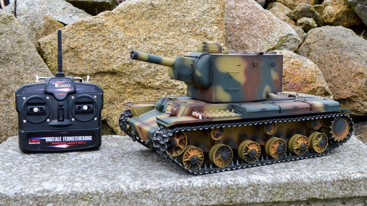 RC tank KV2 Dreadnought - Infrared - kovová PROFI edice