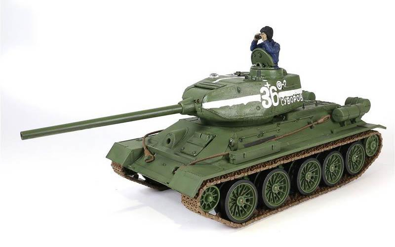 RC tank T-34/85 - InfraRed - Forces of Valor 1:24