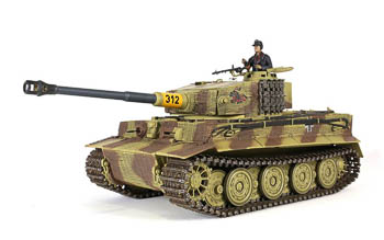 RC tank Panzer VI Tiger - InfraRed - Forces of Valor 1:24