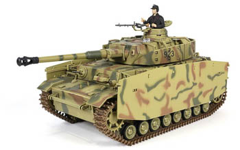 RC tank Panzer IV Ausf H - InfraRed - Forces of Valor 1:24