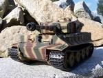 RC tank Tiger na dálkové ovládání - kamufláž - 1/16 - Taigen - 2