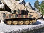 RC tank Tiger na dálkové ovládání - kamufláž - 1/16 - Taigen - 5