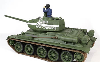 RC tank z edice Force of Valor - T-34/85