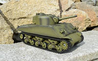 Profesionální RC model tanku M4A3 Sherman BB + IR