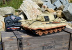 RC tank Tiger 2 - desert camouflage - 02