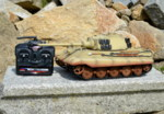 RC tank Tiger 2 - desert camouflage - 03