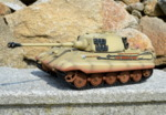 RC tank Tiger 2 - desert camouflage - 04