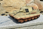 RC tank Tiger 2 - desert camouflage - 05