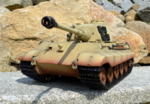 RC tank Tiger 2 - desert camouflage - 06