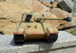 RC tank Tiger 2 - desert camouflage - 07