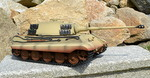 RC tank Tiger 2 - desert camouflage - 08
