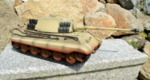 RC tank Tiger 2 - desert camouflage - 09