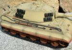 RC tank Tiger 2 - desert camouflage - 10