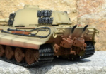 RC tank Tiger 2 - desert camouflage - 11