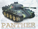 RC model tanku Panther G 1/16 infrared camouflage - 11