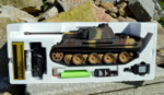 RC model tanku Panther G 1/16 infrared camouflage - 12