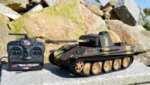 RC model tanku Panther G 1/16 infrared  camouflage - 01