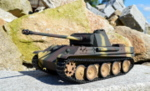 RC model tanku Panther G 1/16 infrared  camouflage - 09