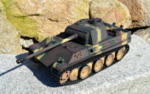 RC model tanku Panther G 1/16 infrared  camouflage - 04