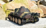 RC model tanku Panther G 1/16 infrared  camouflage - 06