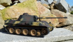 RC model tanku Panther G 1/16 infrared  camouflage - 07