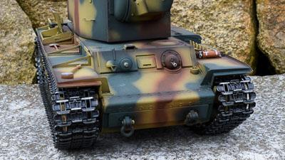 Profesionální RC model tanku KV2 - kovová edice v kamufláži